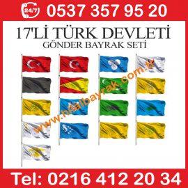 Eski Türk devletleri gönder bayrak Eski Türk devletleri İmalatı, Kadıköy İstanbul, gönder bayrak, gönder bayrak Ümraniye, gönder bayrak imalatı, gönder bayraları,  ümraniye gönder bayrakları,  acil