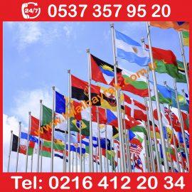 Ülke Bayrakları, Devlet Bayrak, Ülke Devlet Bayrak, Yabancı ülke bayrakları, Yabancı bayraklar, ulusal bayraklar, Flama Bayrak, Üretimi, Acil 7 24 hizmet Ümraniye