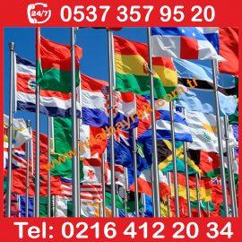 Ülke Bayrakları, Devlet Bayrak, Ülke Devlet Bayrak kadiköy, Yabancı ülke bayrakları, Yabancı bayraklar, ulusal bayraklar, Flama Bayrak, İmalatı, Acil 7 24 hizmet Ümraniye